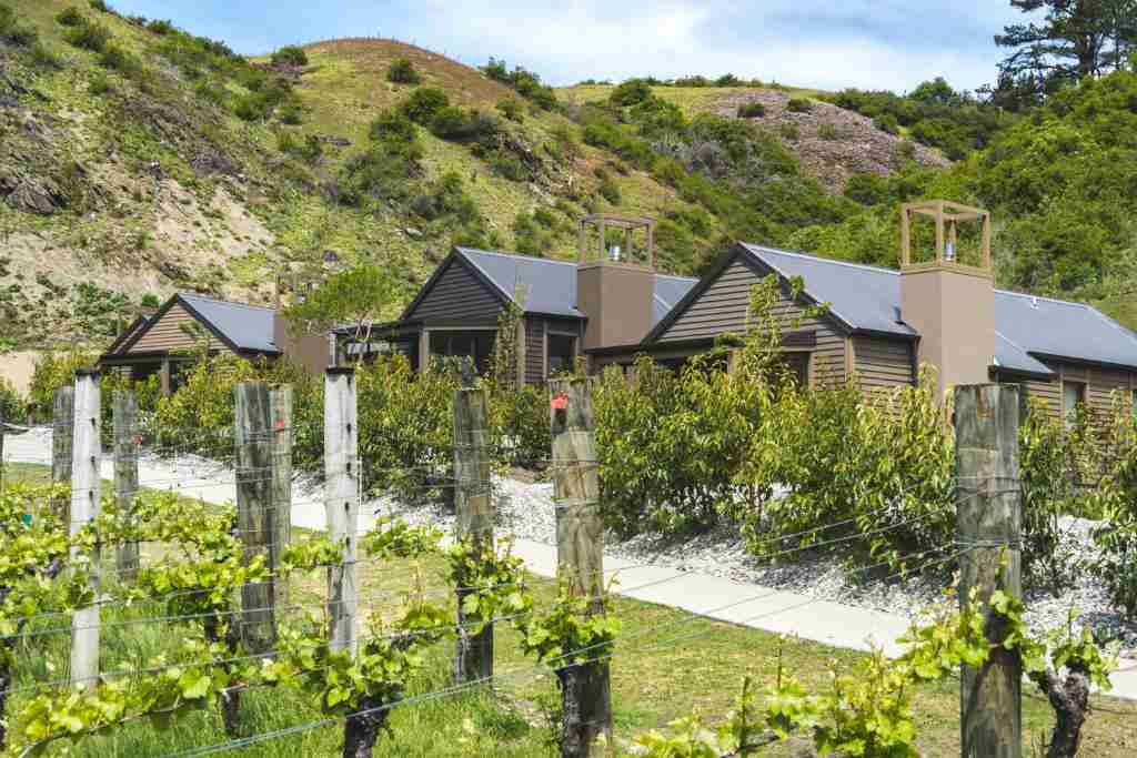 Gibbston Valley Lodge and Spa in summer