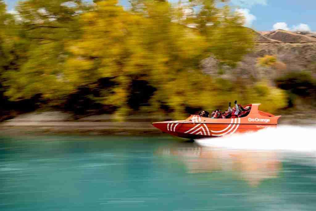 Go Orange Jet Boat