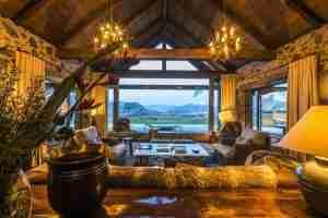 Mahu Whenua luxury lodge with stunning views