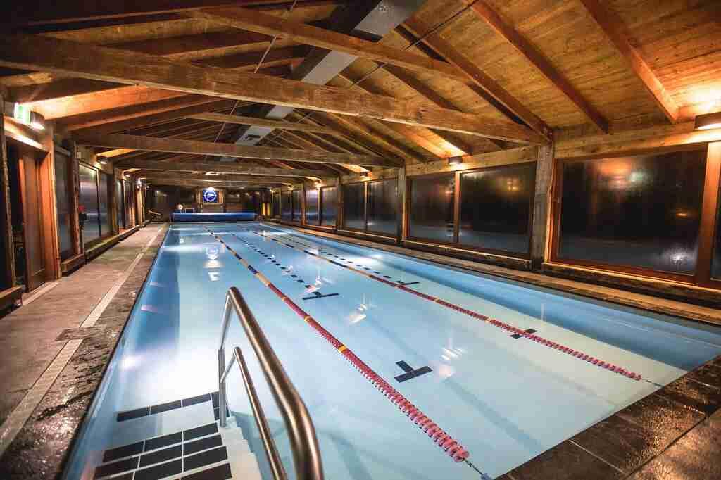 Millbrook Resort heated indoor lap pool