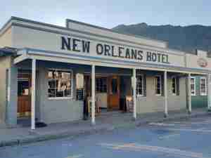 The New Orleans Hotel in Arrowtown.