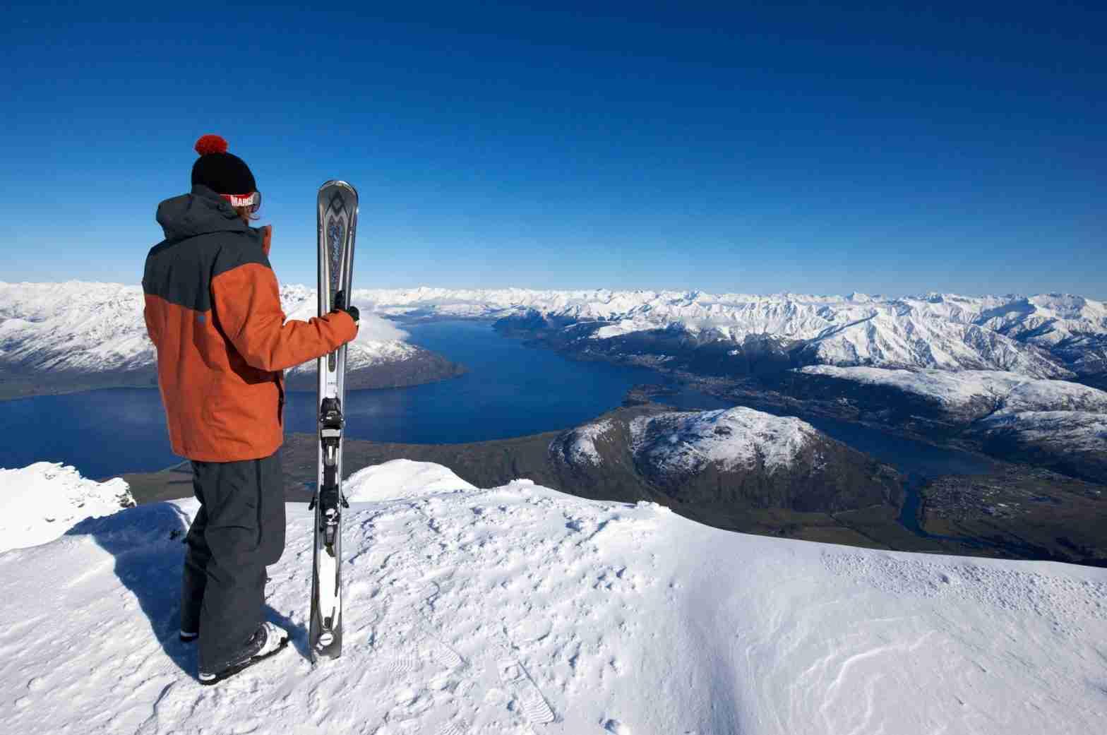 The Remarkables Ski Field, Queenstown, New Zealand.